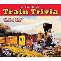 A Year of Train Trivia 2018Dailyデスクボックス版カレンダー