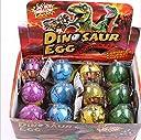 恐竜卵 水の中に孵化 卵から恐竜になる 面白い玩具 子供教育用品 クリスマス プレゼント 12個セット