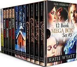 12 Book Mega Box Set #3: (Historical Pioneer Wilderness Romance Serice) by [Wyatt, Katie]