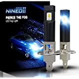 NINEO H1 LED Fog Light Bulbs 2800LM Extremely Bright All-in-One Conversion Kit 5530 Chips 6500K Cool White