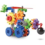 Learning Resources LER9227 Gears! Gears! Gears! Machines in Motion Building Set,116 pieces,Multicolor