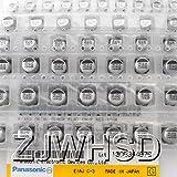 (1uF-220uF) 130個 13種類 各10個 SMD アルミニウム 電解 コンデンサ チップ 電解コンデンサ 電解 キャパシター オリジナル キット セット