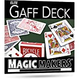The Blue Gaff Deck - Over 40 Magic Tricks Can Be Performed with This Deck by Magic Makers [Toy] [並行輸入品]