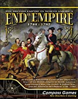 CPS: End of Empire 1744-1782, the British Empire in North America, Board Game