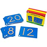 Didax Educational Resources Sandpaper numerals 0-20 Cards