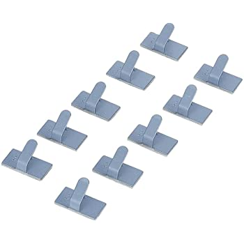 エレコム ケーブル結束クリップ(10個) LD-US10