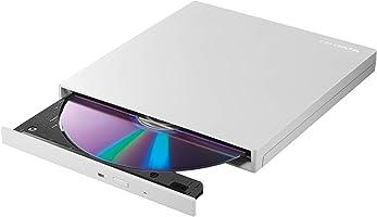 アイオーデータ 外付け DVDドライブ 薄型ポータブル 国内メーカー/USB3.0/バスパワー/Win/Mac/ EX-DVD04W