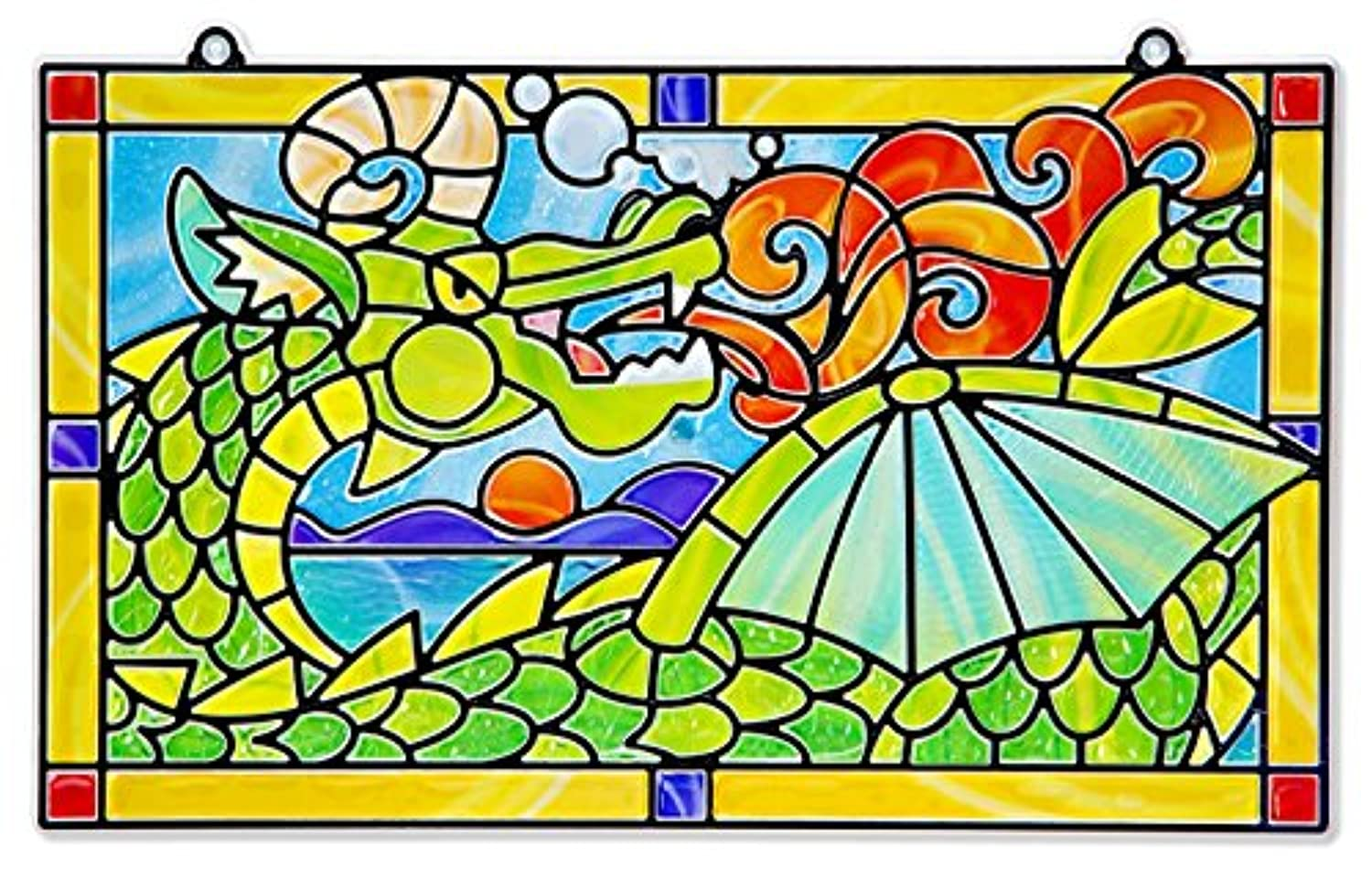 Melissa & Doug Stained Glass - Dragon [並行輸入品]