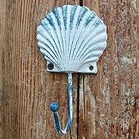 PLL ヨーロッパスタイルのカントリーレトロな鋳鉄クリエイティブ貝殻のモデルフックコートフック
