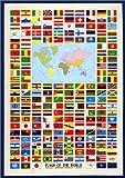 世界の国旗 [ポスター]