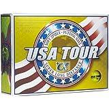 USA TOUR DISTANCE +α ゴルフボール 1ダース(12個入)