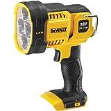 Dewalt DCL043-GB 18V XR Cordless LED Spotlight (Body Only), 18 V, Black/Yellow