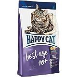 HAPPY CAT (ハッピーキャット) ベストエイジ10+ 全猫種 高齢猫用 極小粒 - Phコントロール グルテンフリー 無添加 ヒューマングレード ドイツ製 キャットフード ドライ (300g)