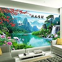 Wapel 3 D の風景壁紙、リビングルームの TV の背景の壁紙に関する環境 5 D 氷 200 X 140 cm