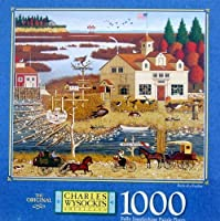 Charles Wysocki's 1000pc. Puzzle-Birds of a Feather