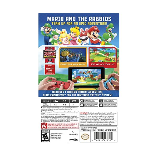 Mario + Rabbids Kingdom...の紹介画像3