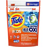 Tide Pods Ultra Oxi Liquid Laundry Detergent Pacs, 26 Count