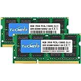 テクミヨ ノートPC用メモリ1.35V(低電圧) DDR3 1600 SODIMM(PC3-12800) 8GB×2枚204Pin CL11 Non-ECC Mac対応 永久保証