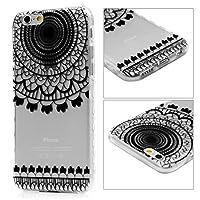 【Vivagaga】iPhone6ケース iPhone6sカバー アイフォン6ケース アイフォン6sカバー スマホケース クリアケース 4.7インチ用ケース TPU構造 ソフトケース 防塵 衝撃吸収 脱着簡単 花柄