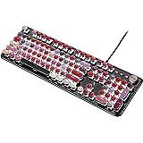 FELiCON® V1 ゲーミングキーボード  反応性速い 複数キー同時押対応 有線 (カラフル) …