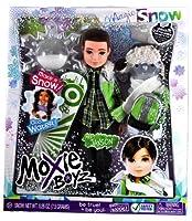 MGA Entertainment Moxie Boyz Magic Snow Series 11 Inch Doll - JAXSON with Artificial Snow, Snow Hat, Scarf, Backpack and Snowboard Plus Bonus Poster [並行輸入品]