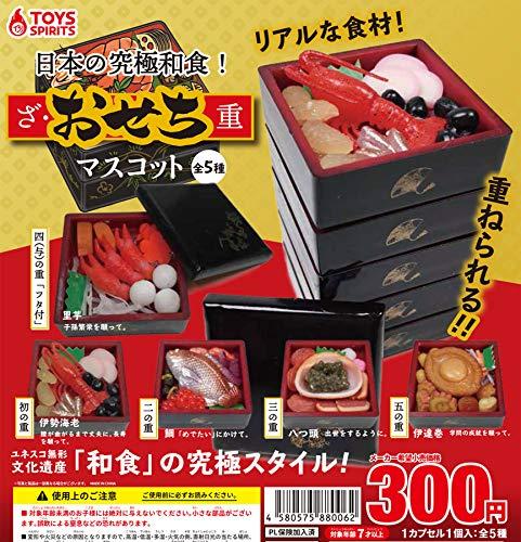 日本の究極和食! ざ・おせち重マスコット [全5種セット(フ...