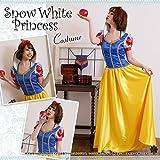 白雪姫 ロングドレス コスチューム レディース Mサイズ