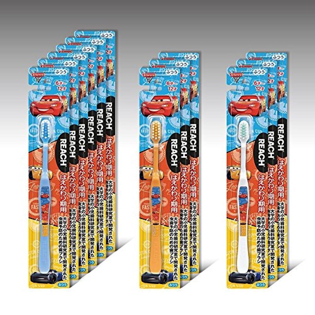 フラップベックス風変わりなリーチキッズ ディズニーカーズ はえかわり期用(6~12才) 12本セット
