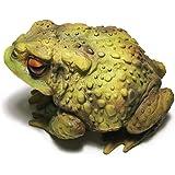 Muse Design Frog Toad Sculptures Garden Statues Yard Art Resin Decorations Outdoor Garden Décor