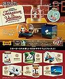 スヌーピー SNOOPY & WOODSTOCK Terrarium On Vacation BOX商品 1BOX=6個入り、全6種類 リーメント(RE-MENT) リーメント -