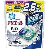 アリエール ジェルボール4D 炭酸機能でハジける洗浄力 清潔で爽やかな香り 詰め替え 31個