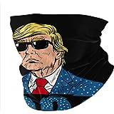 Trump Mask Neck Gaiters for Men Summer Womens Bandana Dust Face Scarf Headband