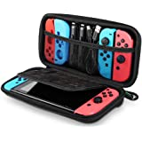 UGREEN Nintendo Switch Case Carrying Case Compatible for Nintendo Switch, Hard Shell Travel Case Protective Cover Bag with 9