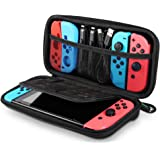 UGREEN Switch Carrying Case for Nintendo Switch Lite Portable Hard Shell Travel Case Pouch Protective Cover Bag with 9 Game C