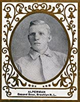 ブルックリン・ドジャース–Whitey Alperman–野球カード 16 x 24 Giclee Print LANT-21887-16x24