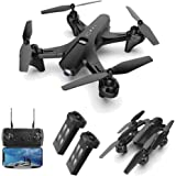 piberagi Drone with Camera 1080P FPV RC Quadcopters Drones with Camera for Adults 2.4GHz Remote/Phone/APP Controlled HD Camer