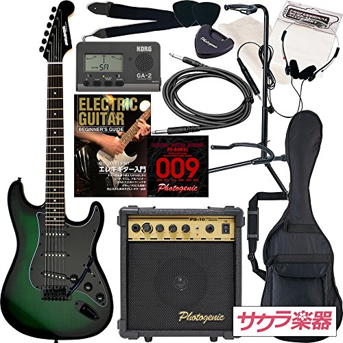 SELDER SPECIAL セルダー エレキギター ストラトキャスタータイプ サクラ楽器オリジナル ST-SPECIAL/IGB 初心者入門13点セット