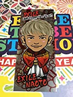 EXILE 三代目J Soul Brothers NAOTO NEW YEAR 2018 千社札シール