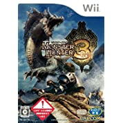 モンスターハンター3(トライ)(通常版) 特典 モンスターヘッドフィギュア付き - Wii