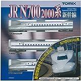 TOMIX Nゲージ N700 2000系 東海道 山陽新幹線 基本セット 92537 鉄道模型 電車