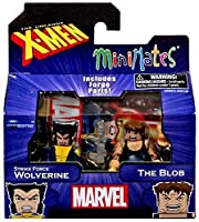 uncanny x-men minimates series 60 exclusive - strike force wolverine and the blob by art asylum [並行輸入品]