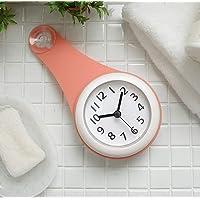 バスルーム時計 防水クロック 掛け時計 ウォールクロック 吸盤付き 防水 静音 浴室 キッチン お風呂 家庭用 おしゃれ…