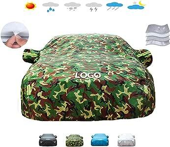 カーカバー 車ボディーカバー 車のカバーアウディA7,4-層肥厚車のカバー、車のカバー防塵多機能防水日焼け止めに対応 (Color : B, Size : 2017 50 TFSI quattro)