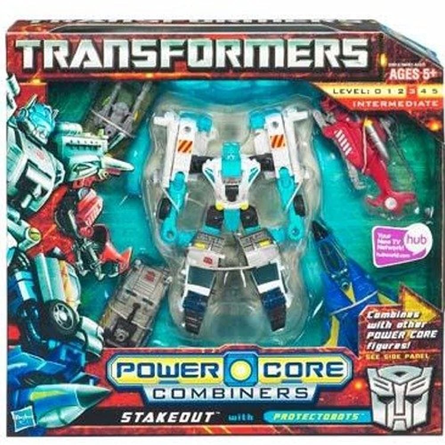 Transformers Combiners 5PK - Stakeout with Protectobots [並行輸入品]