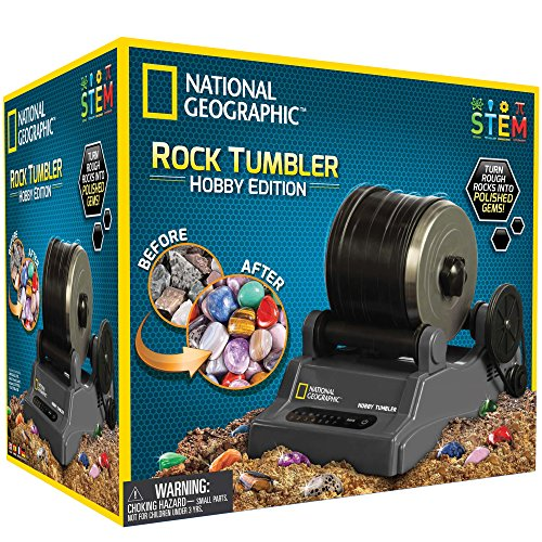 [ナショナルジオグラフィック]National Geographic Hobby Rock Tumbler Kit NGHOBBYTUMBLER [並行輸入品]