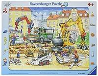 Fleißige Bauarbeiter 24 Teile Rahmenpuzzle