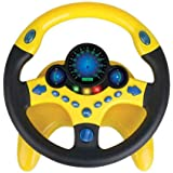 Placextre New Kid Copilot Simulated Steering Wheel Racing Driver Kids Copilot Simulated Steering Wheel Racing Driver Toy Educ