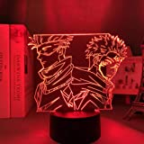 3D Anime Lamp Satoru Gojo Jujutsu & Kaisen Led Night Light Yuji Itadori for Room Deco Birthday Gift Jujutsu & Kaisen Lamp Yuj