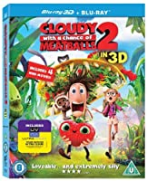 Cloudy with a Chance of Meatballs 2: Revenge of the Leftovers [Blu-ray 3D + Blu-ray] [2013] [並行輸入品]