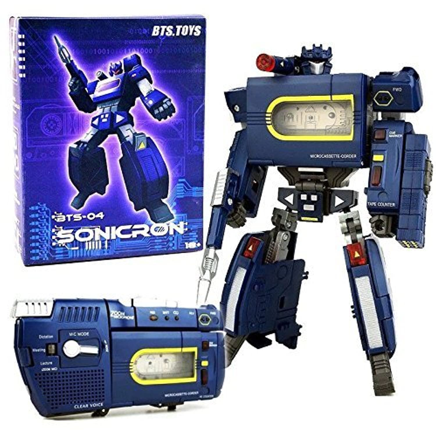 STERLING Transformers Sonicron Soundwave BST BTS-04 Figure